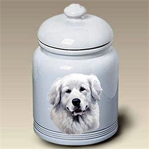 Great Pyrenees Treat Jar