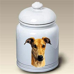 Greyhound Treat Jar