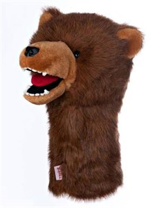 Grizzly Bear Golf Headcover