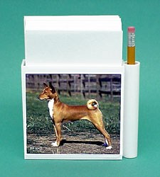 Basenji Hold-a-Note