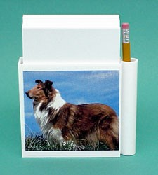Collie Hold-a-Note
