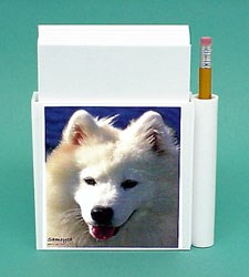 Samoyed Hold-a-Note