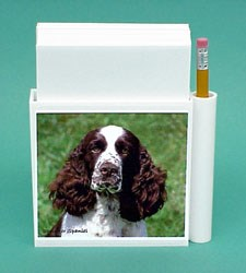 Springer Spaniel Hold-a-Note