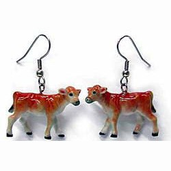 Jersey Cow Earrings