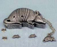 Armadillo Jewelry Box