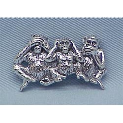 Chimpanzee Pin