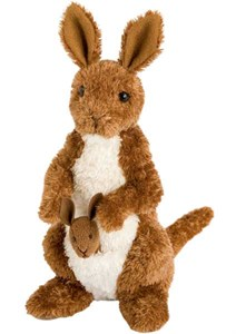 Kangaroo Plush Stuffed Animal 8 Inch