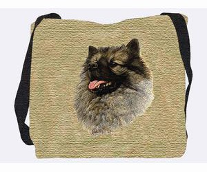 Keeshond Tote Bag