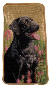 Black Lab Eyeglass Case