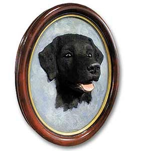 Black Lab Sculptured Portrait