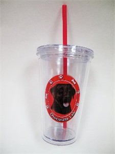 Chocolate Lab Tumbler
