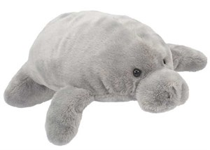 Manatee Plush Stuffed Animal 14 Inch
