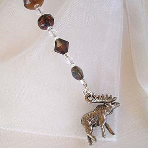 Moose Bookmark