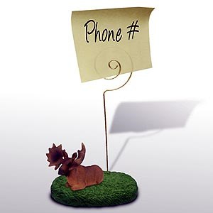 Moose Note Holder (Bull)