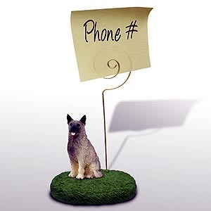 Norwegian Elkhound Note Holder