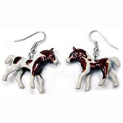 Paint Horse Earrings