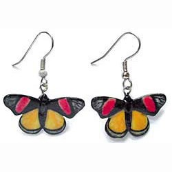 Painted Beauty Butterfly Earrings