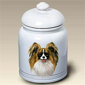 Papillon Treat Jar