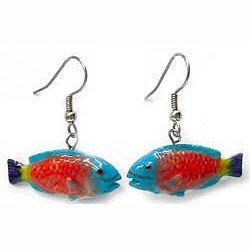 Parrot Fish Earrings