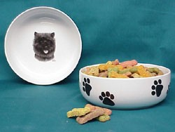 Cairn Terrier Dog Bowl
