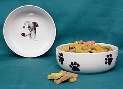 Greyhound Dog Bowl