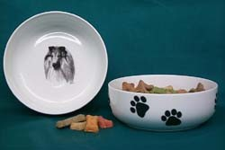 Collie Dog Bowl
