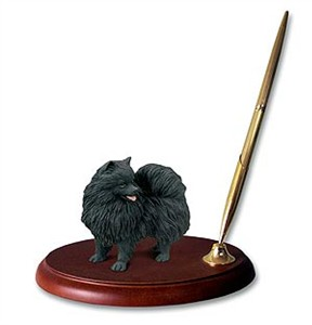 Pomeranian Pen Holder