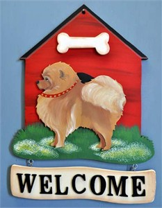 Pomeranian Welcome Sign