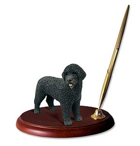 Portuguese Water Dog� Pen Holder