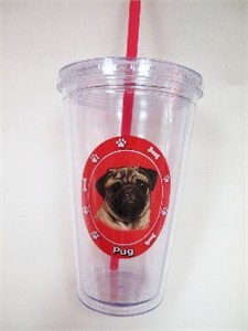 Pug Tumbler