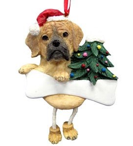 Puggle Ornament