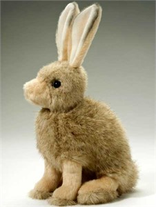 Rabbit Plush Stuffed Animal 8 Inch