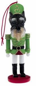Schnauzer Ornament Nutcracker