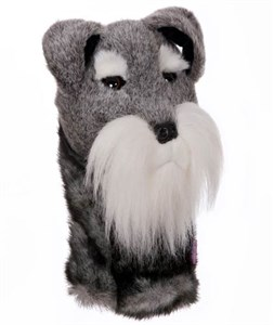 Schnauzer Golf Headcover