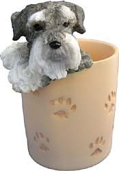 Schnauzer Pencil Holder