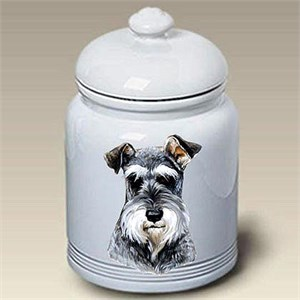 Schnauzer Treat Jar