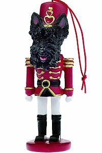 Scottish Terrier Ornament Nutcracker