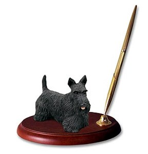 Scottish Terrier Pen Holder