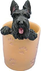 Scottish Terrier Pencil Holder