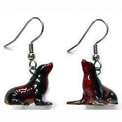 Sea Lion Earrings