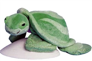 Sea Turtle Plush Stuffed Animal 10 Inch