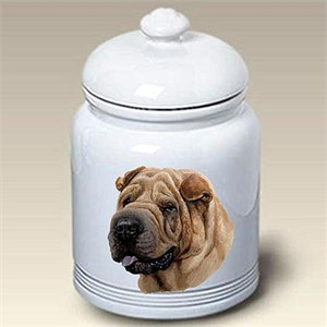 Shar Pei Treat Jar