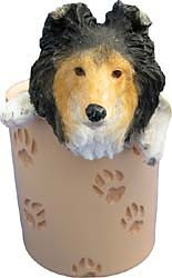 Shetland Sheepdog Pencil Holder