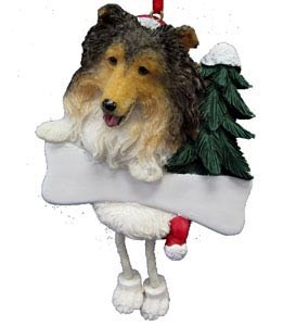 Shetland Sheepdog Ornament