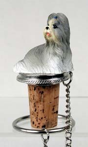 Shih Tzu Bottle Stopper (Mixed)