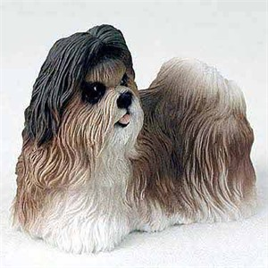 Shih Tzu Figurine Tan