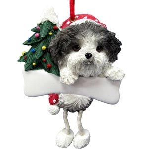 Shih Tzu Ornament (Puppy Cut)