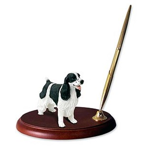 Springer Spaniel Pen Holder
