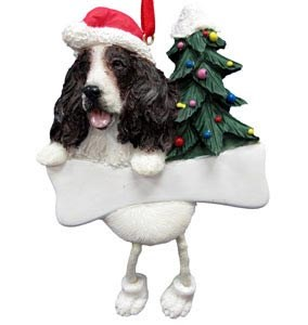 Springer Spaniel Ornament