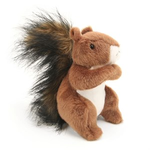 Squirrel Plush Stuffed Animal 6 Inch